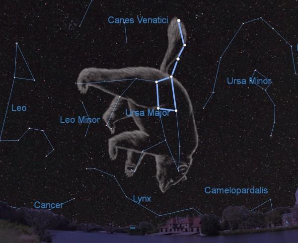 nebula in the big dipper - photo #32