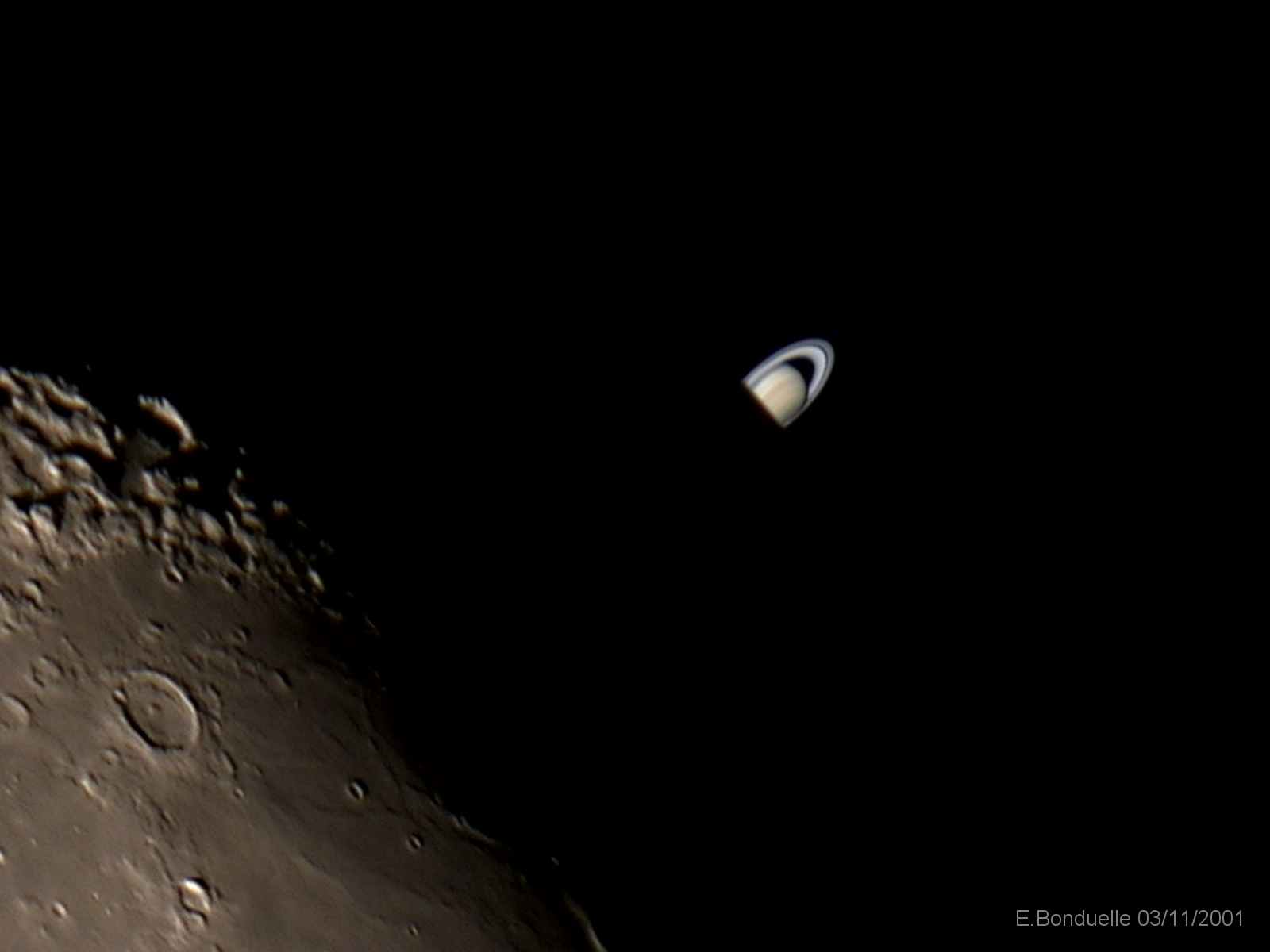 Moon To Cover Saturn On February 20th Sky Amp Telescope
