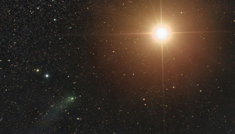 Mars and Comet Siding Spring