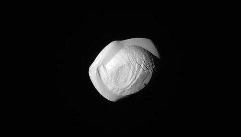 Welcome to Pan: Saturn's Ravioli-Shaped Moon - Sky & Telescope