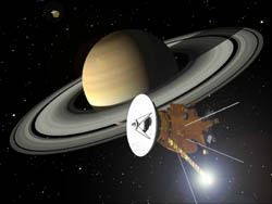 Cassini nears Saturn