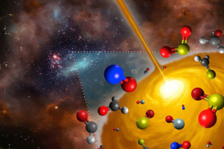 Molecules in space