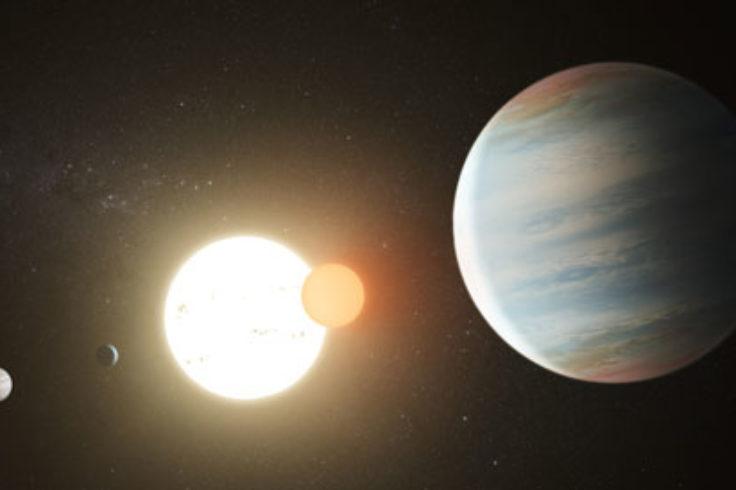 Kepler 47 (artist's concept)