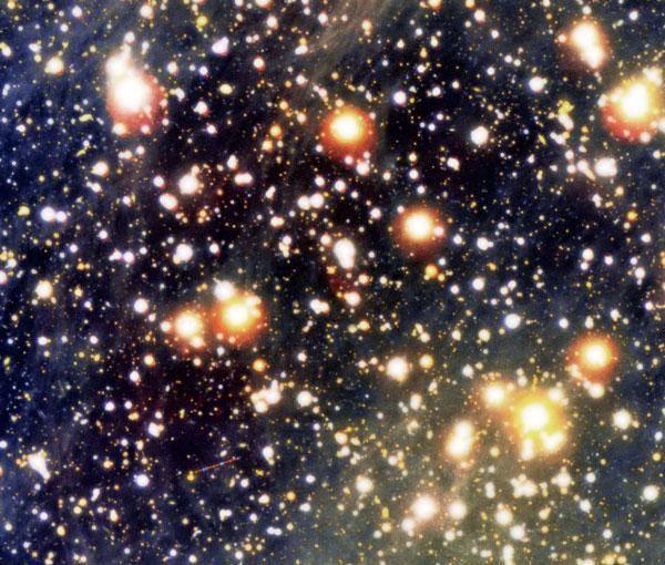 Close-up view of neutron star RX J1856.5-3754