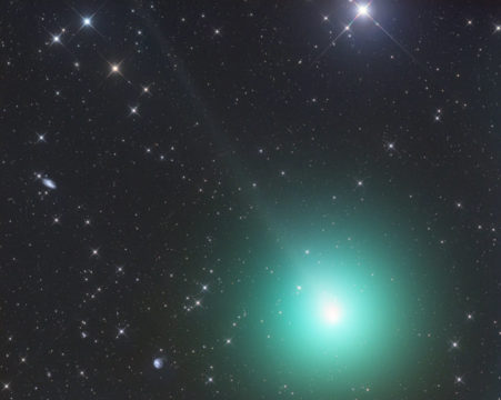 Picture of comet 46P