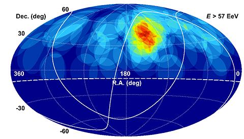 potential hotspot for cosmic rays