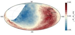 cosmic ray sky map