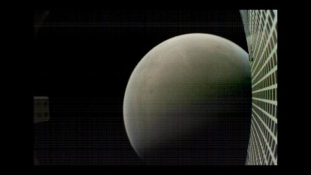 Picture of Mars from MarCO-B