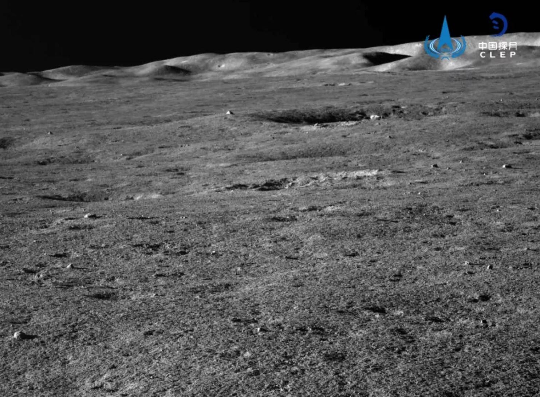 Von Kármán Crater rim