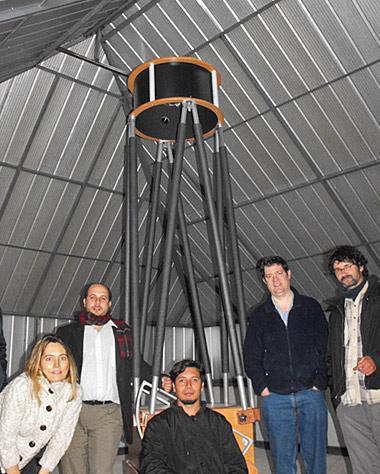 Observatorio del Pangue, Chile