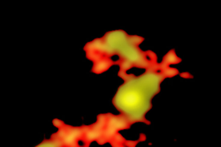 ALMA image of quasar merger