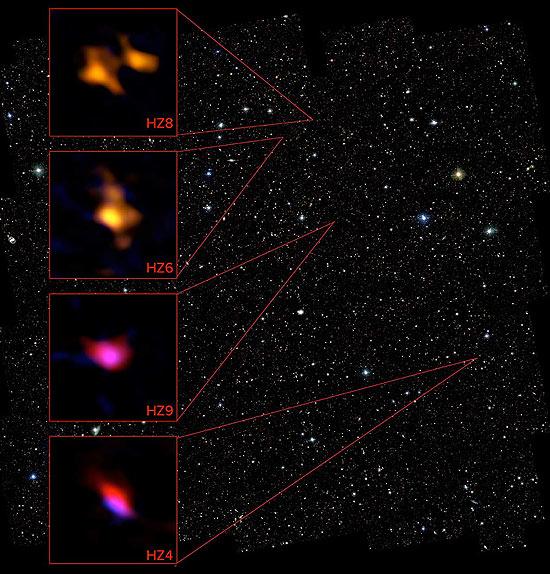 low-dust galaxies