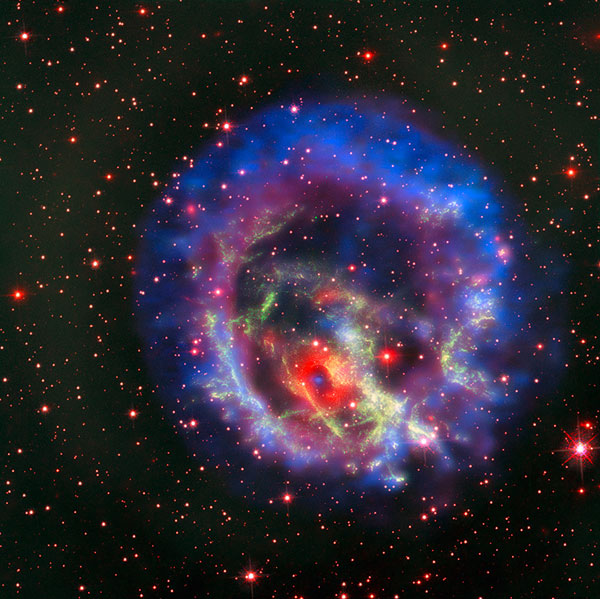 Supernova Remnant E0102