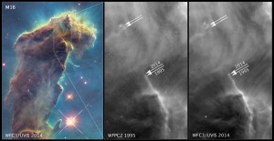 changes in Eagle Nebula