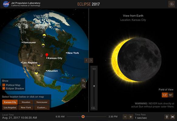 Solar Eclipse App