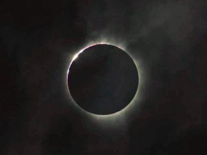 Expect to see similar views, such as this photo of the eclipse just as totality ended, on our exclusive eclipse tours!