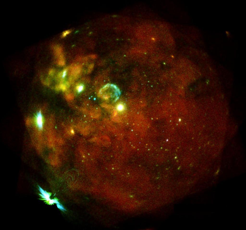 Large Magellanic Cloud in X-rays
