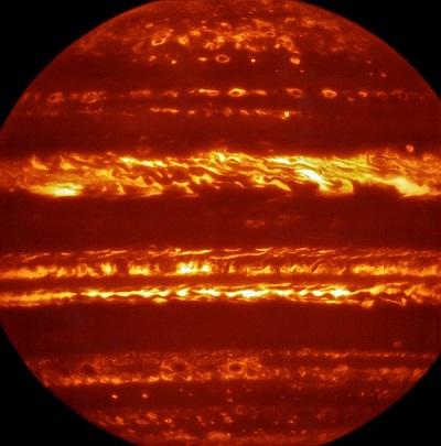 Jupiter in the infrared