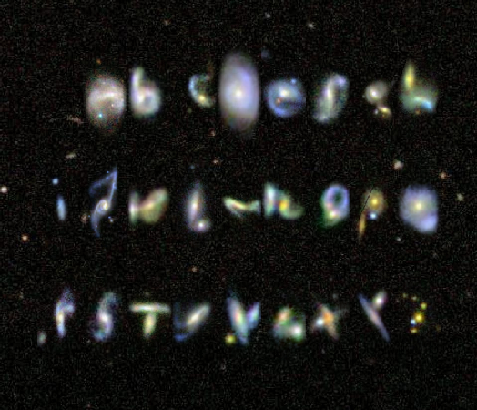 Galaxy Alphabet - Astronomy Terms