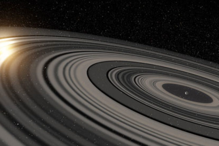 ring system around J1407b