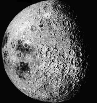 Apollo 16 image of Moon's farside