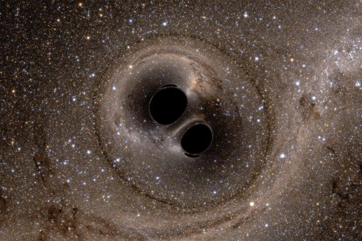 The merger of a black-hole binary