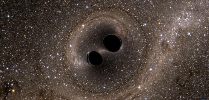 Black hole binary merging