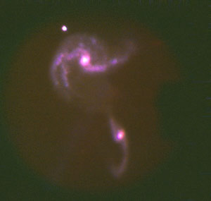 First-light image