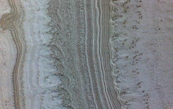 wavy features appear on the Martian surface indicate smectites