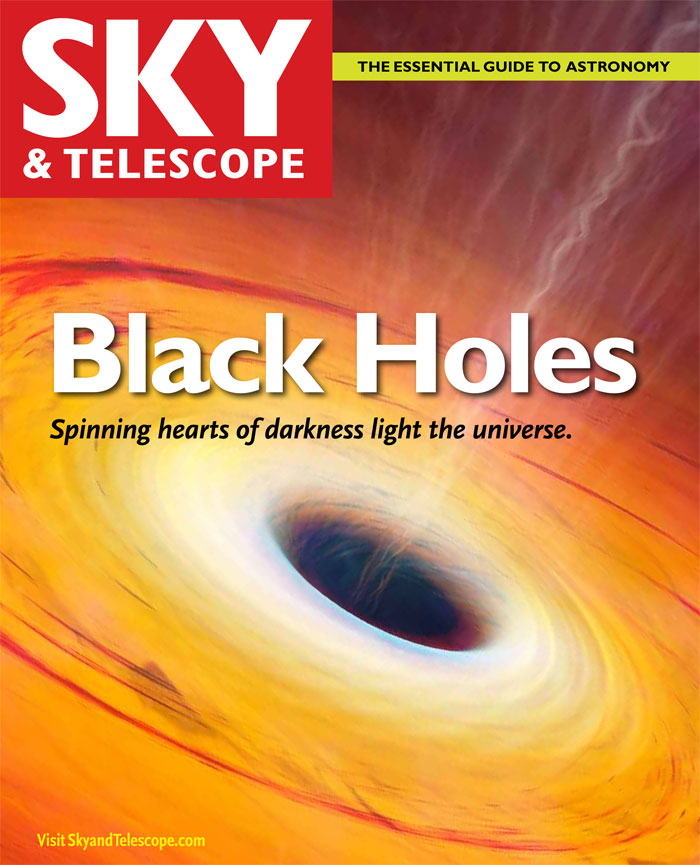Learn about Supermassive black Holes in this free download from Sky and Telescope.
