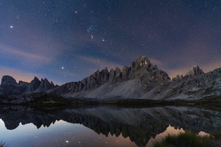 Reflected starlight