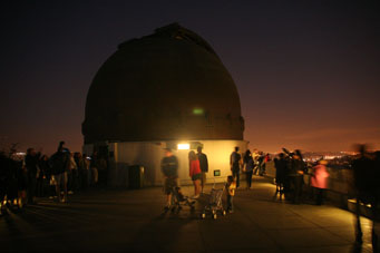 Griffith Observatory 12-inch telescope dome