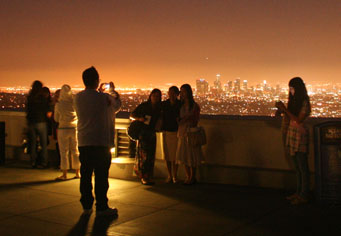 Griffith Observatory balcony