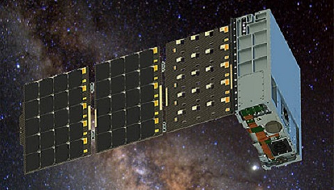 HaloSat in space