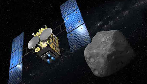 hayabusa space mission - photo #6