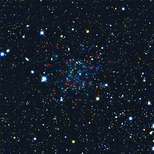 Horologium I ultra-faint dwarf galaxy