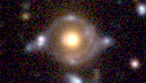 Students Discover a Galactic Eye of Horus