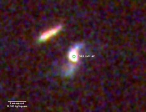 Home galaxy of a GRB