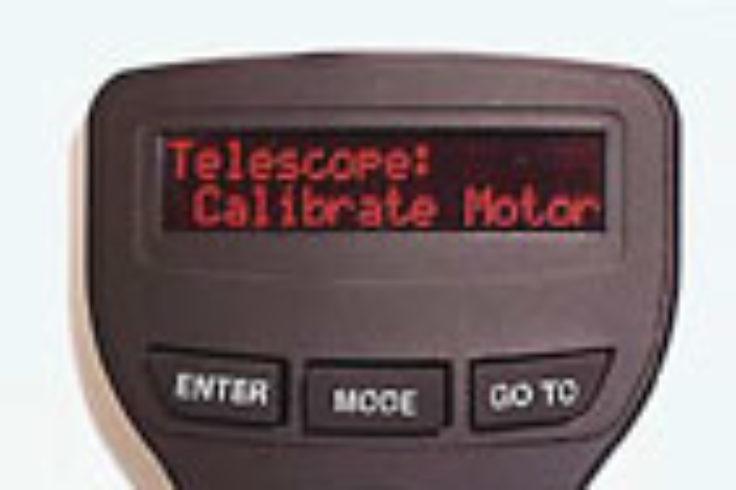Autostar control: Calibrate Motors