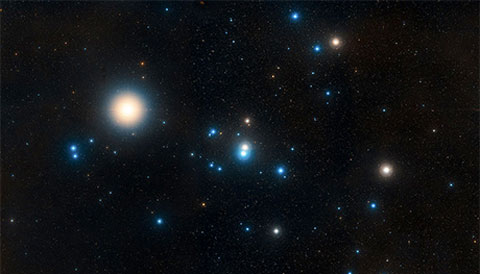 The Hyades open star cluster