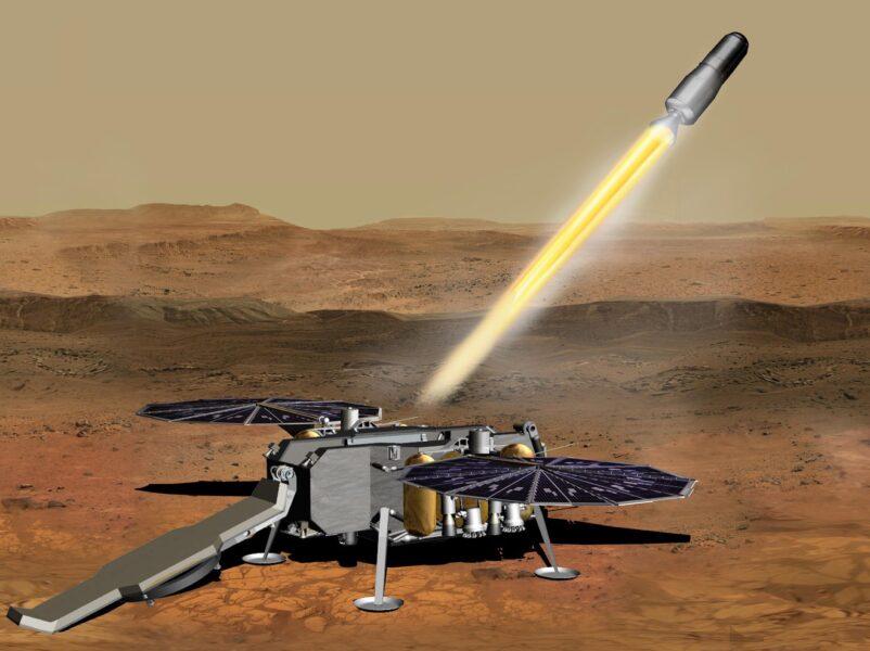 Mars Sample Return (artist's concept)