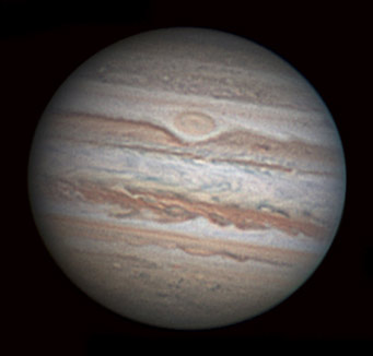 Jupiter on July 2, 2009