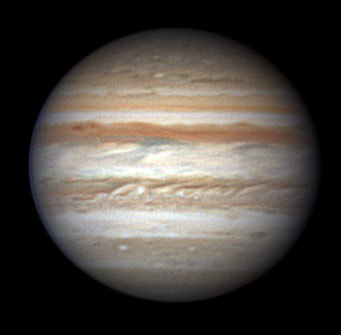 Jupiter on May 20, 2008