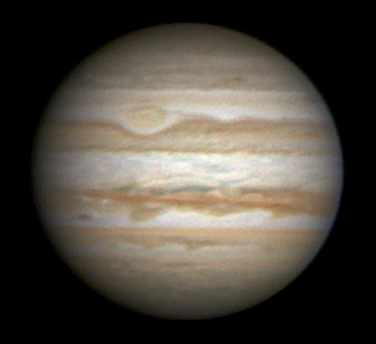 Jupiter on June 17, 2009