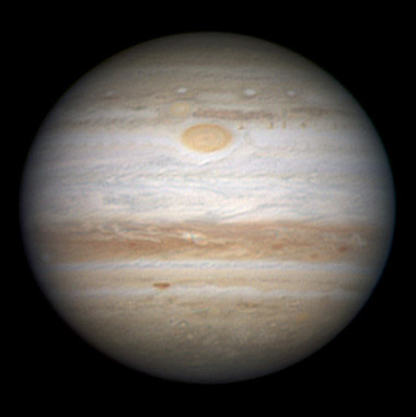 Jupiter on Sept. 16, 2010