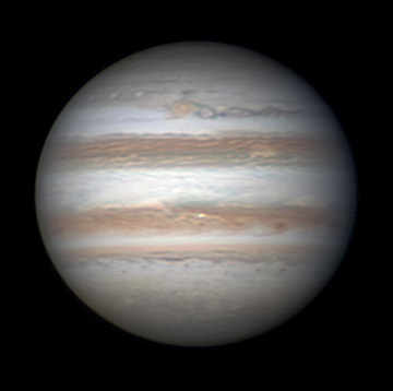 Jupiter on April 4, 2013
