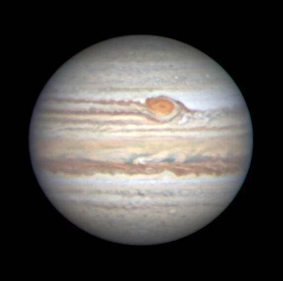 Jupiter on May 22, 2019