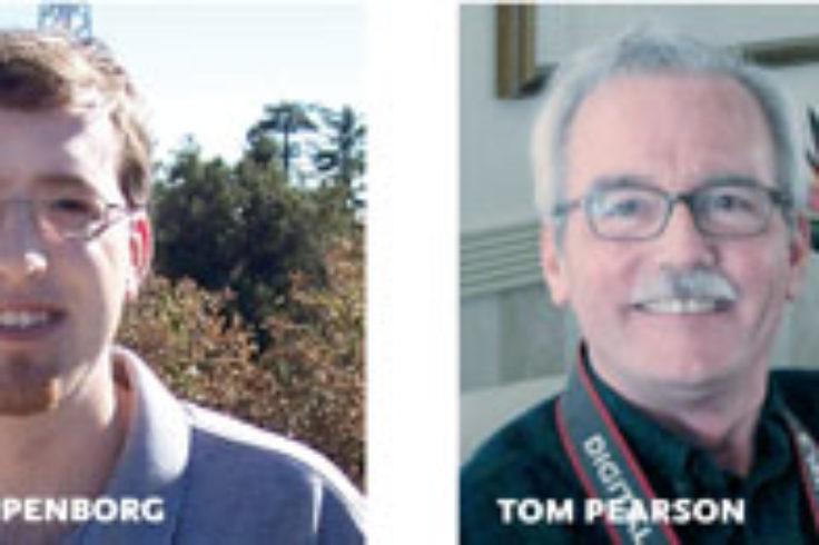 Brian Kloppenborg and Tim Pearson