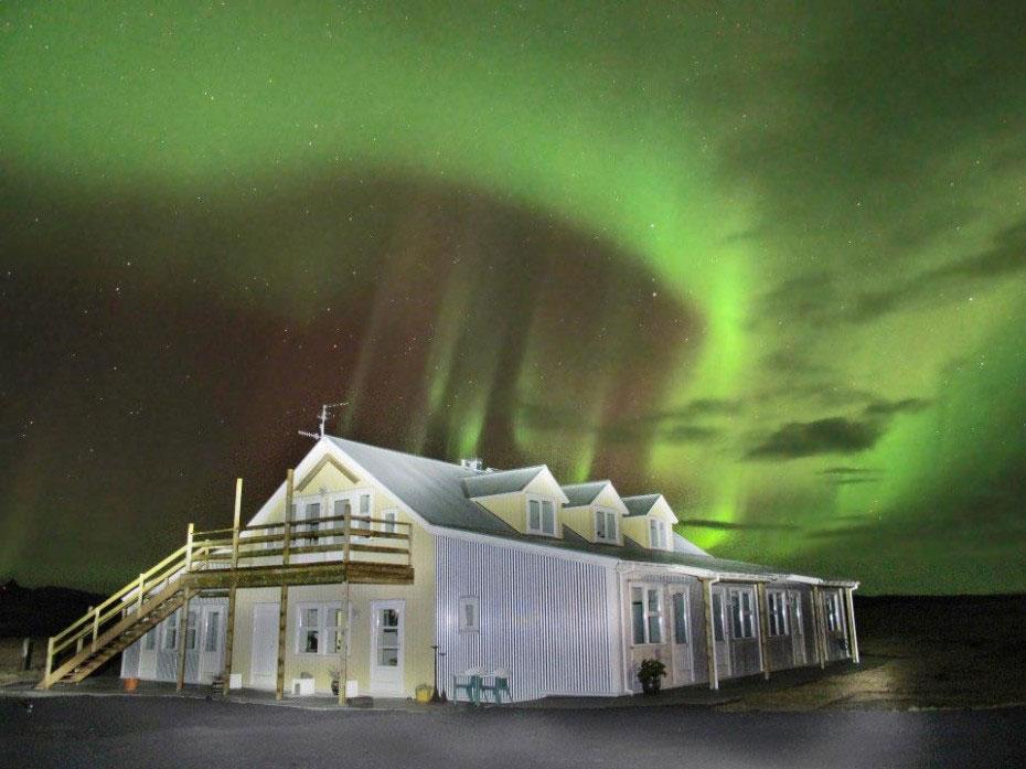 Hotel Laekur under Aurora