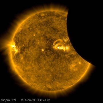 NASA SDO eclipse